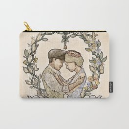 """Illustration from the video of the song by Wilder Adkins, """"When I'm Married"""" Carry-All Pouch"""