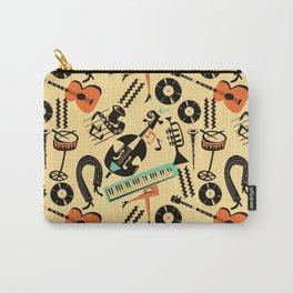 Jazz Rhythm (positive) Carry-All Pouch
