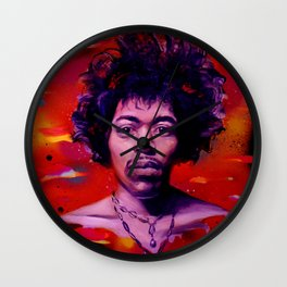 Voodoo Child Wall Clock
