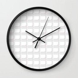 Greyish and Pinkish Wall Clock