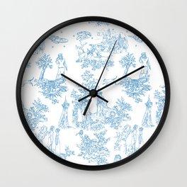 Toile du Moi Wall Clock