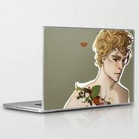 peter pan Laptop & iPad Skins featuring Peter Pan by Rosita Maria