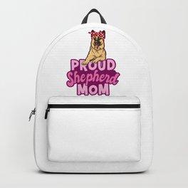 Shepherd Mom Backpack