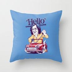 Captain Slow Throw Pillow