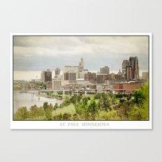 St. Paul Minnesota Canvas Print