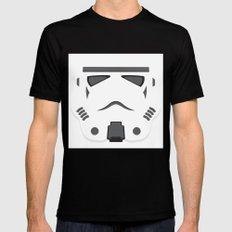 Storm Trooper - Starwars Mens Fitted Tee Black MEDIUM