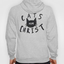Cats for Christ Hoody