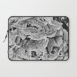 coleus black and white Laptop Sleeve