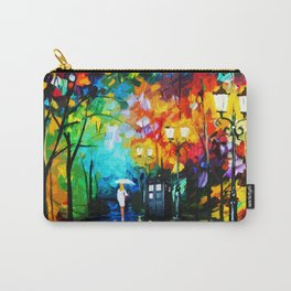 Tardis Art Phone Both Painting Carry-All Pouch