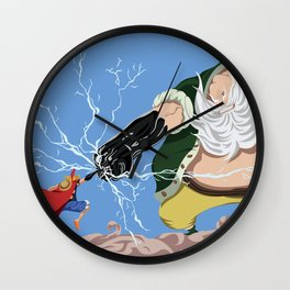 Luffy vs Don Chinjao Wall Clock