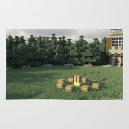 Survival Games - The Forest Rug