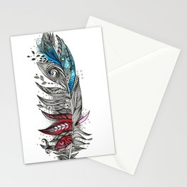 Garden Feather Stationery Cards