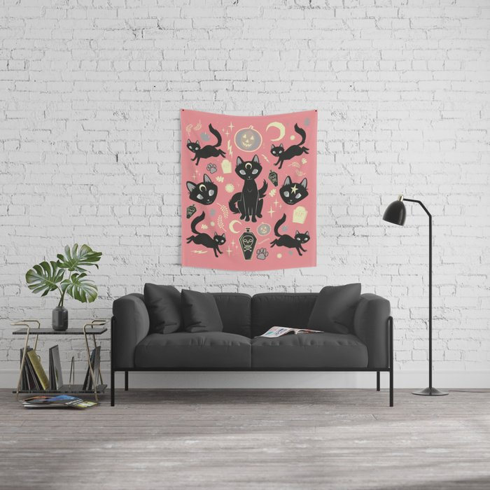 Witch Babies Wall Tapestry