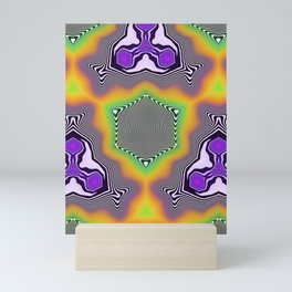 Liquid Symetry Mini Art Print