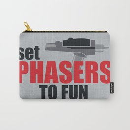 Set Phasers to Fun! Carry-All Pouch