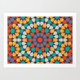 Scattered Petals Art Print