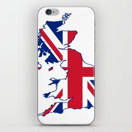 England Flag iPhone Skin