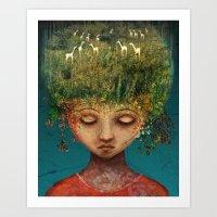 Quietly Wild Art Print
