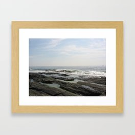 Rocks on the Coast Framed Art Print