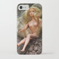 barbie iPhone & iPod Cases featuring barbie by art_by_a_rose