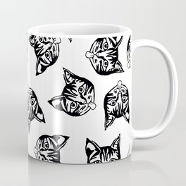Black Mollycats Coffee Mug