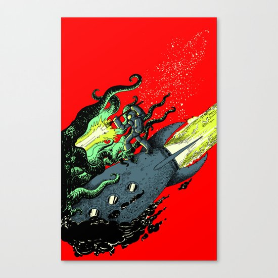 Ode to Joy - Color Canvas Print