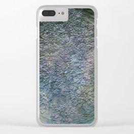 Flower of Lyfe Clear iPhone Case