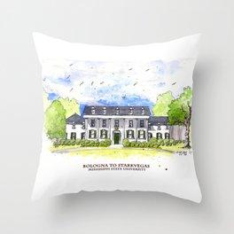 Mississippi State - Scenes Around Campus Throw Pillow