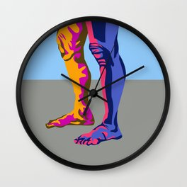 legs for days Wall Clock