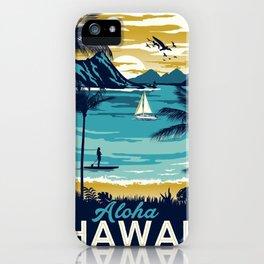 Vintage poster - Hawaii iPhone Case