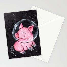 Orbital Piggy Stationery Cards