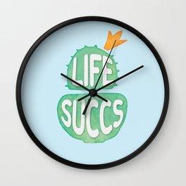 Plant Life Succs Wall Clock