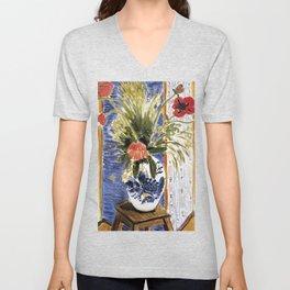 Henri Matisse - Poppies - Exhibition Poster Unisex V-Neck