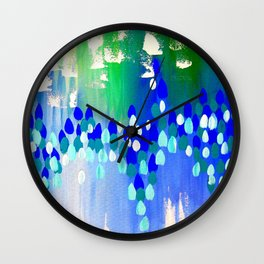 Australian Winter Wall Clock