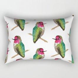 Anna's Hummingbird Rectangular Pillow