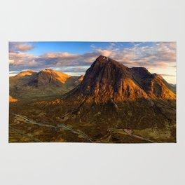 Brown Landscape Rug