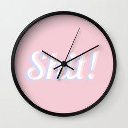 Shit Wall Clock