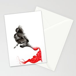 Smoke Stationery Cards