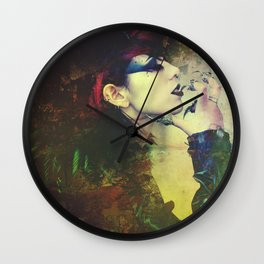 The Raven II Wall Clock