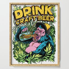 Drink Craft Beer Serving Tray