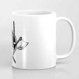 Viking Warrior   Valhalla Odin Asgard Midgard Coffee Mug