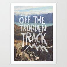 Trodden Track Art Print