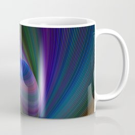 Elliptical fractal Coffee Mug