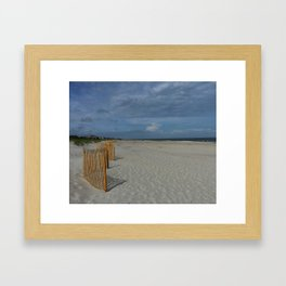Hilton Head Beach Framed Art Print