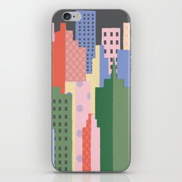 City Blocks iPhone Skin