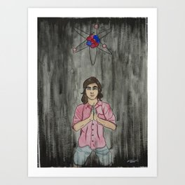 Conflicting Faiths Art Print