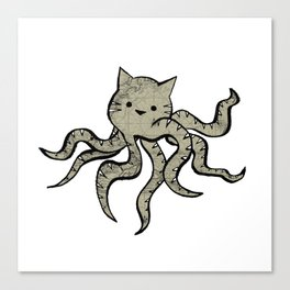 minima - octopuss Canvas Print