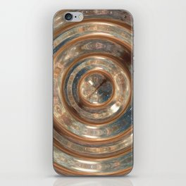 Space Swirl no1 iPhone Skin