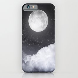 Touch of the moon II iPhone Case