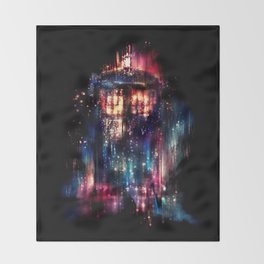 All of Time and Space Throw Blanket